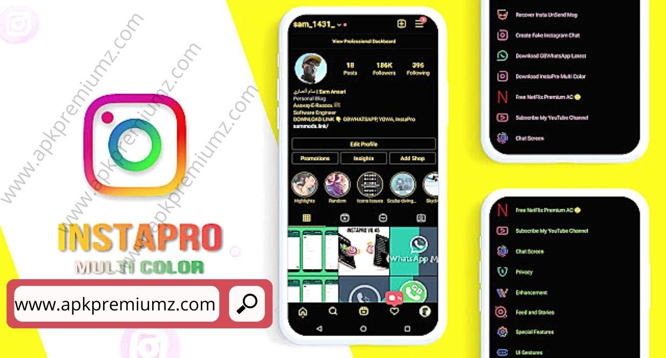 instapro multicolor mod apk latest version