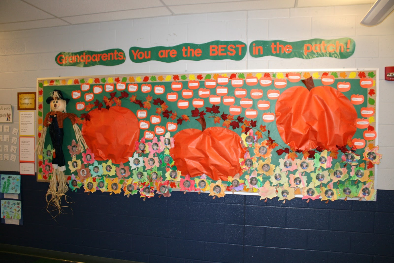 Mrs Butterfield S First Grade Pumpkin Patch Bulletin Board