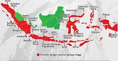 Daftar Provinsi Dengan Potensi Gempa Bumi Tinggi Di Indonesia