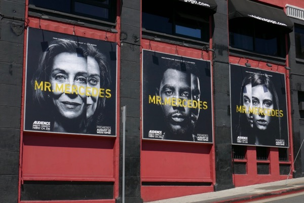 Mr Mercedes season 2 billboards