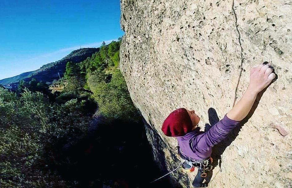 rockclimbing in Margalef