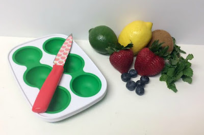 Fruit Herbs and Ice tray