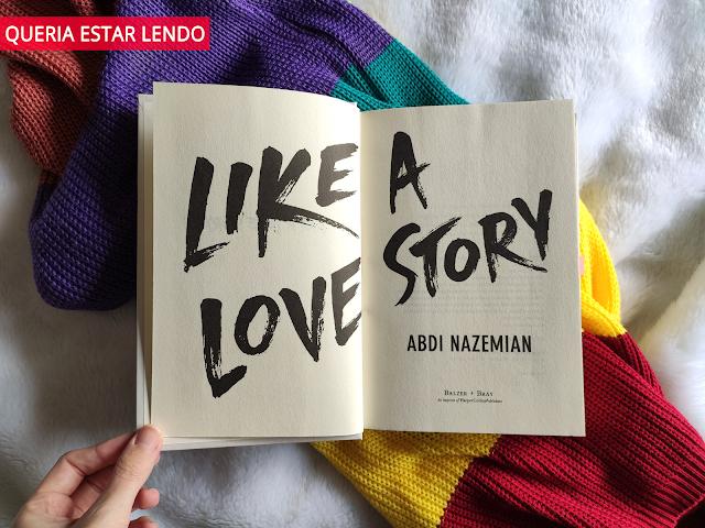 Li até a página 100 e... #108 - Like a love story