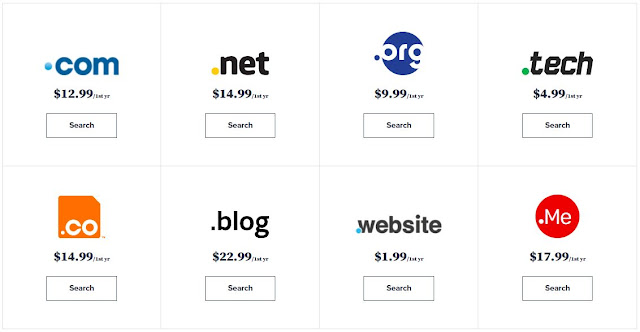 Bluehost Domain Prices