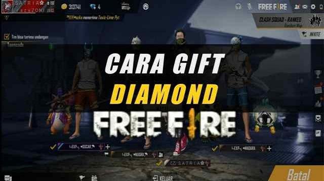 Cara Gift Diamond Free Fire