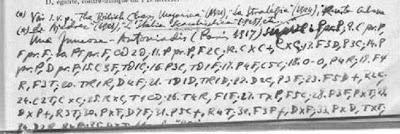 Manuscrito de Juncosa en la página del libro sobre la Apertura Zaragozana