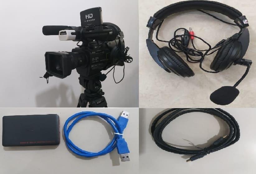 Sewa Paket Alat Video Live Streaming Jakarta | Rental Mic Podcast USB Laptop PC Komputer