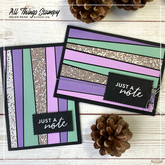 Stampin Up scrappystriptechnique scrappy strips