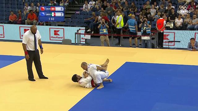 Dan Schon se llevó los 85 kg del Ju-Jitsu en los Juegos Mundiales 2017 convirtiéndose en bicampeón y dando a México su primer oro