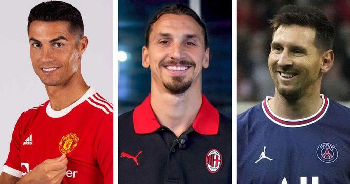 Zlatan Ibrahimovic reveals between Messi and Ronaldo who is best.