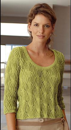 модели вязания со схемами и описаниями очень красивый пуловер спицами