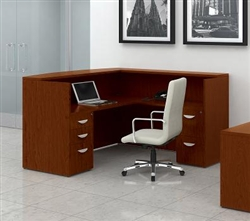 Luxurious Reception Desks at OfficeFurnitureDeals.com