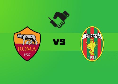 Roma vs Ternana   Resumen