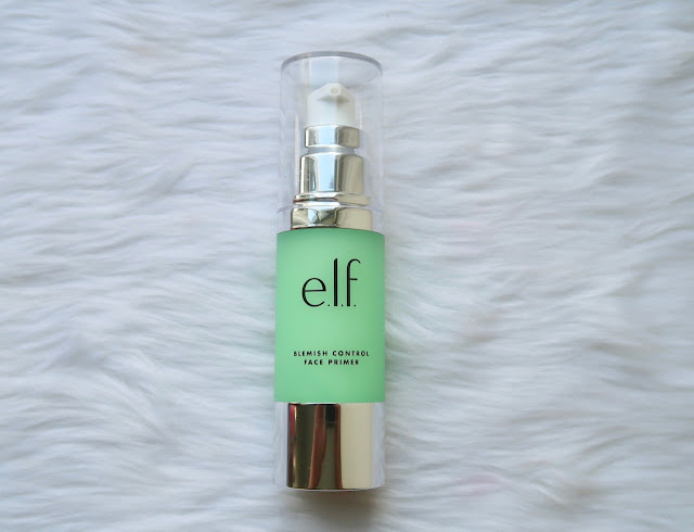 ELF Blemish Control Primer oily acne prone skin morena filipina beauty blog
