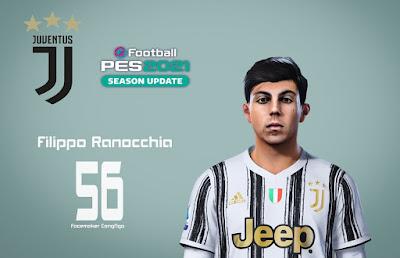PES 2021 Faces Filippo Ranocchia by CongNgo