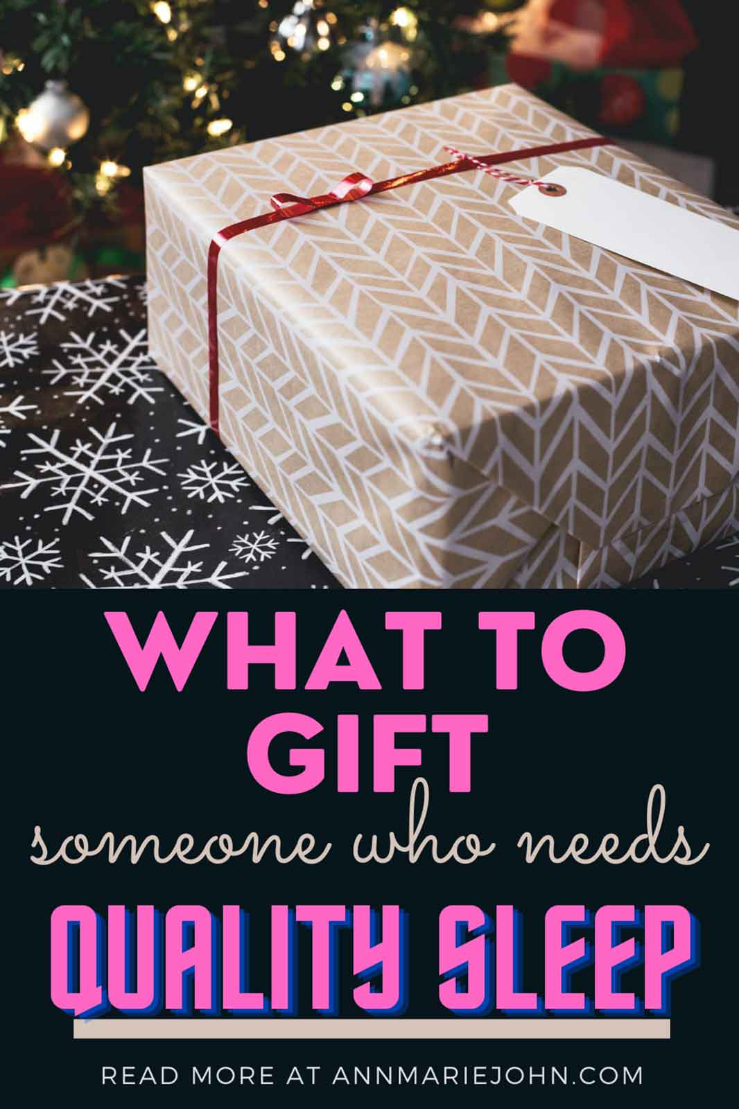 What to Gift Someone Who Really Needs Quality Sleep