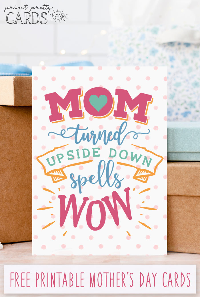 Mother's Day Cards to Print