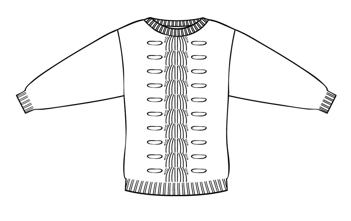 Admarie Sweater Design