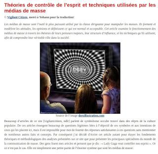 theories de contôle de l'esprit