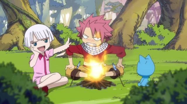 natsu and lasanna camping
