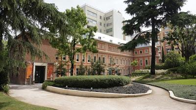 Jardín del Museo Lázaro Galdiano