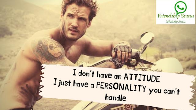 Cool & Stylish Boy Attitude in English