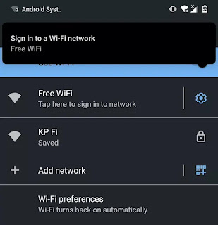 wifipumpkin3 wifi on Android