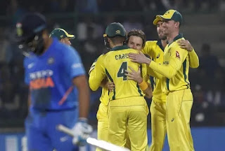 Highlights - India vs Australia 5th ODI at Delhi in 2019