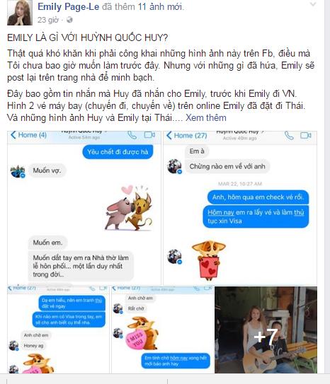 Tội nghiệp cô nàng Emily Page Lê