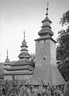 Пирогов. Музей народной архитектуры и быта. Церковь Порова Пресвятой Богородицы