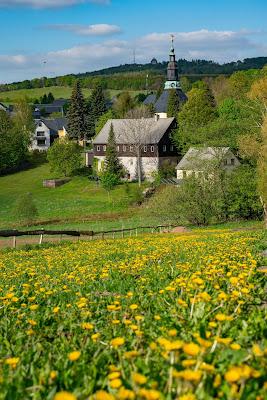 Kammweg Erzgebirge  Etappe 3+4 von Sayda nach Olbernhau  Wandern in Sachsen 16