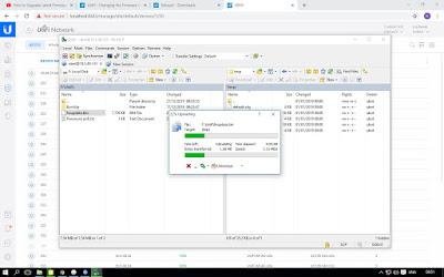 cara update firmware unifi ac lite