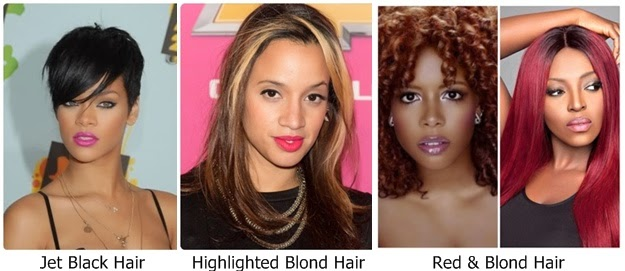 Hair color ideas for dark skin tone women