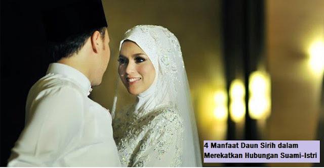 4 Manfaat Daun Sirih dalam Merekatkan Suami-Isteri