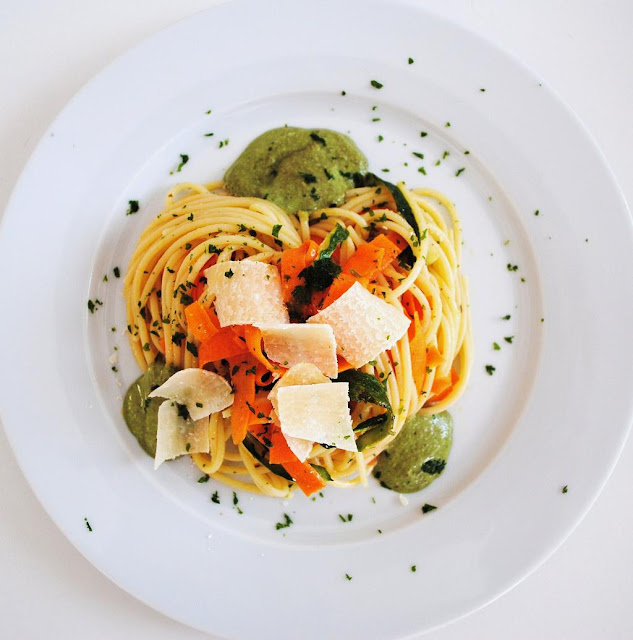 pasta-pesto-vegan-spaghetti