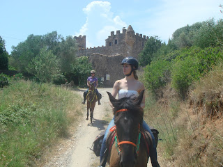 Espanja, Katalonia, ratsastumatka