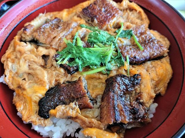 印旛沼漁業協同組合直営レストラン うな玉丼