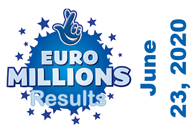 EuroMillions Results for Tuesday, June 23, 2020