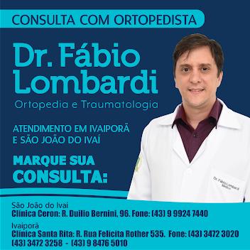 DR. FÁBIO LOMBARDI - ORTOPEDISTA