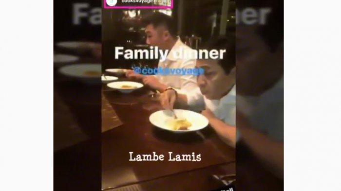 Heboh! Papa Setnov Lagi Asyik Dinner, Netizen Bereaksi