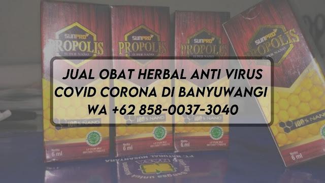 Jual Obat Herbal Anti Virus Covid Corona di Banyuwangi