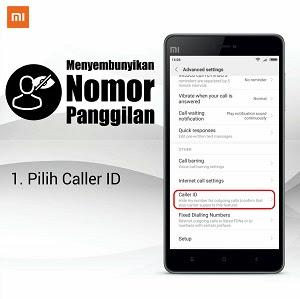 Cara Menyembunyikan Nomor Telepon di Android Xiaomi