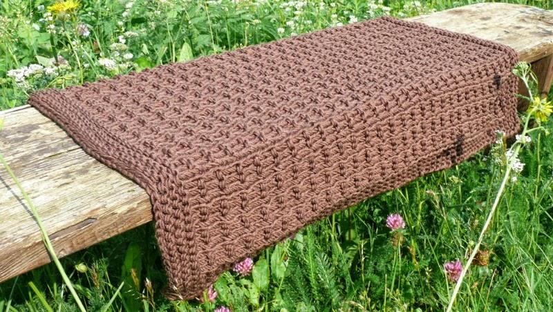 mes favoris tricot crochet mod le tricot gratuit la couverture pour b b alm ria. Black Bedroom Furniture Sets. Home Design Ideas