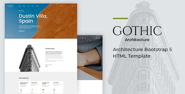 Best Architecture Bootstrap 5 HTML Template