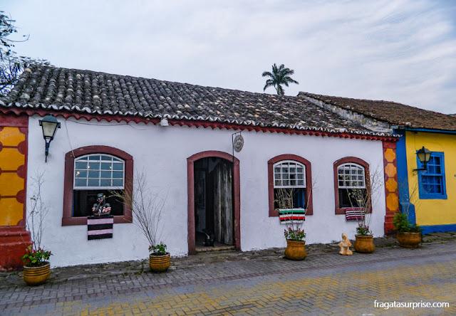 Casas coloniais em Santo Antônio de Lisboa, Florianópolis