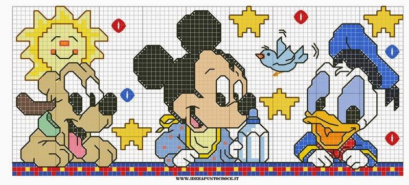 Schemi Punto Croce Bavaglini Disney Gratis Mm47 Regardsdefemmes
