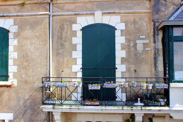 Beautiful door in Saint-Jean de Luz, France