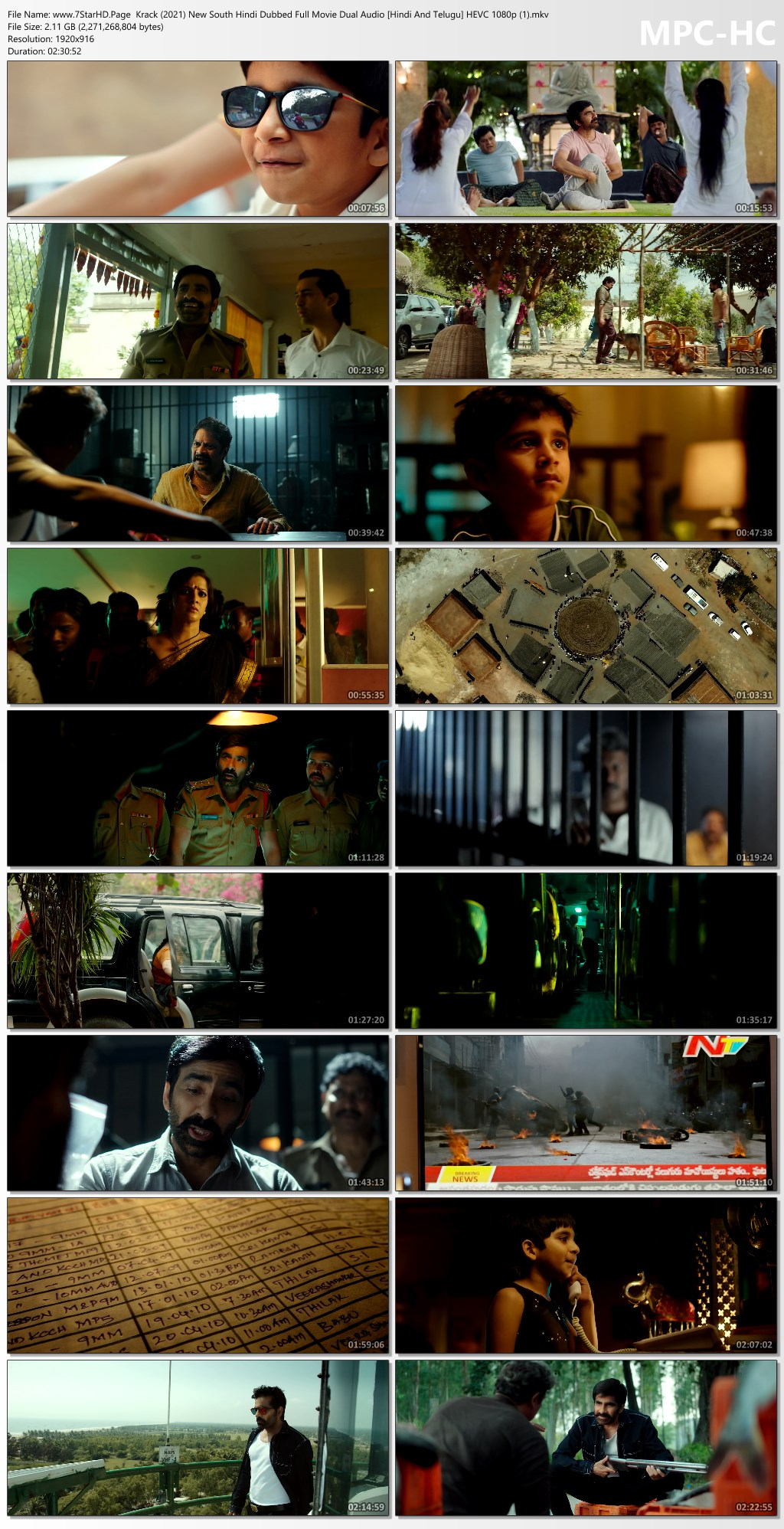 Download Krack Movie 2021 Hindi Dual Audio HD 480p