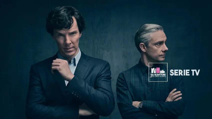 l'antico personaggio di Sherlock Holmes in un detective privato e moderno, nella Londra contemporanea