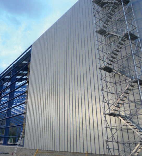 fachada metálica